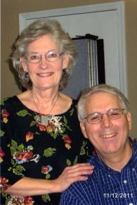 Bill and Peg, dad's 90th