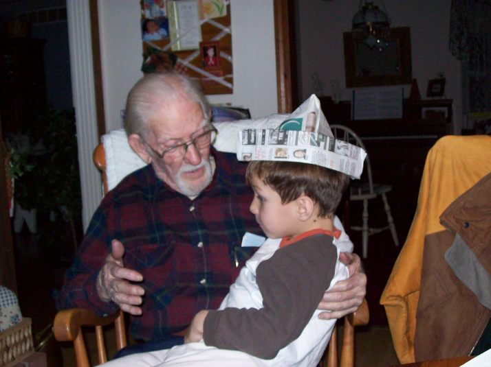 gramps and ethan~ story tellin'