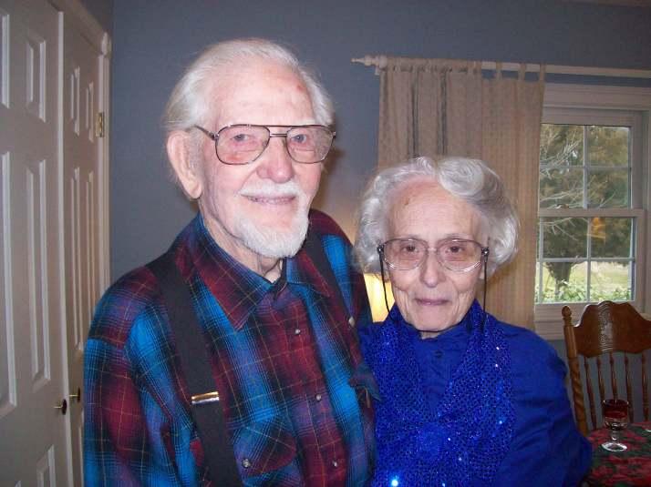 Gramps and Grandma.